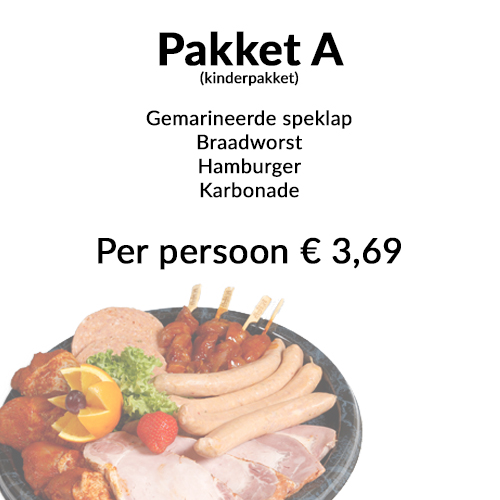 Barbecue pakket a